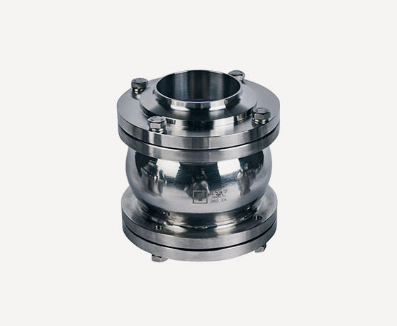 Ball type check valves